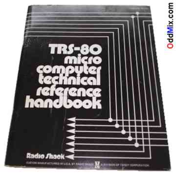 trs 80 micro computer technical reference handbook vintage
