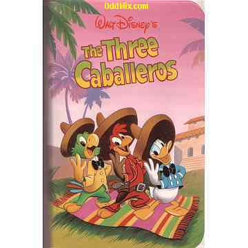 The Three Caballeros Video by Walt Disney's Classics Color ...