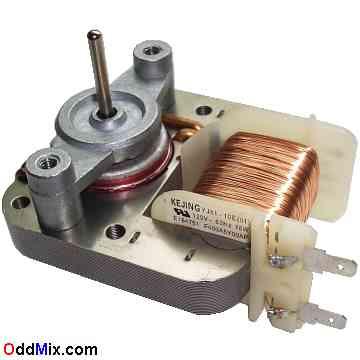 Kejing Yj61 10e 01 Motor 120 Vac 60 Hz 16w Microwave Oven Fan