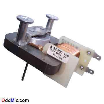 2z 9d0 Matshua Fan Motor 120 Vac 60 Hz Z P Microwave Oven Stirrer Cooling