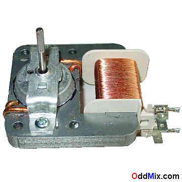 Midea Mdt 08a 120 Vac 60 Hz Z P Microwave Oven Stirrer Cooling Fan Motor