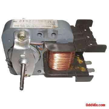 Electric Motor Ac Pascorp Sam Bu Sm29015 120v Z P 120 Vac