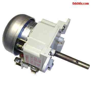 Electric motor ac mitsumi tibu 1 induction 120 vac 60 hz for Electric motor timer control