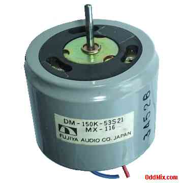 Electric Motor Dc Fujiya Audio Dm 150k 53s21 Mx 116