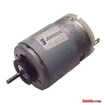 Electric motor dc johnson 62022 pm permanent magnet high for Electric motor sleeve bearings