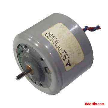 Electric Motor Dc Matshushita 154n091 13 2 Vdc Shielded