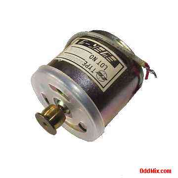 Electric motor dc mitsumi 59c41395p01 precision shielded for Small electric motor pulleys