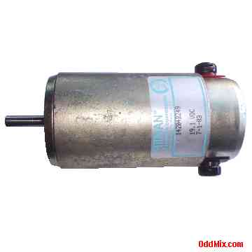 Electric Motor Dc Pittman 14204b249 Pm Permanent Magnet