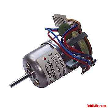 Electric motor dc sony mnf 3700a tachometer assembly pc for Tachometer for electric motor