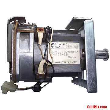 Electric Motor Dc Yaskawa Minertia Ugjmee 02sod12 Pm Absolute Rotary Encoder High Torque