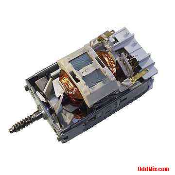 Electric Motor Universal Mouline 115 Vac Dc Open Frame
